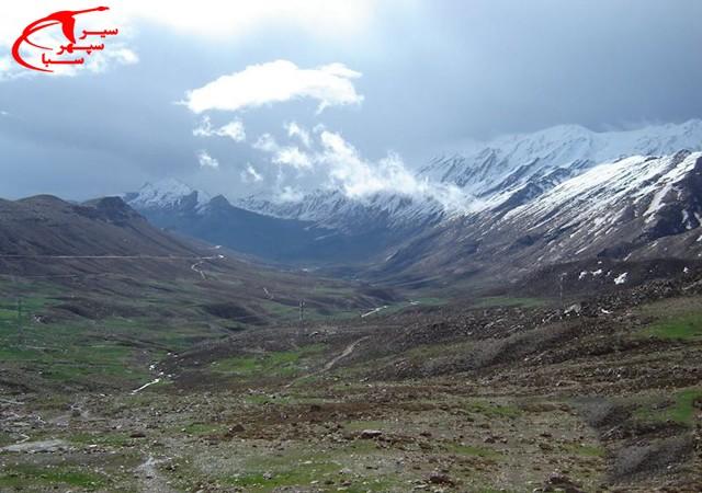 کوه ها و ارتفاعات استان چهارمحال و بختیاری