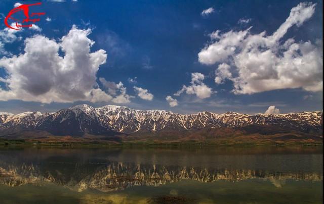 تالاب چغاخور در استان چهارمحال و بختیاری