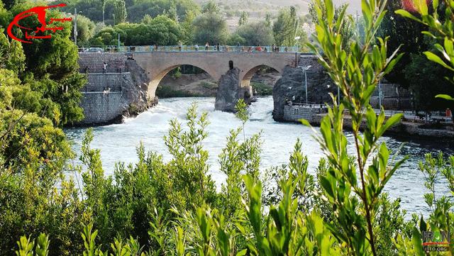 پل زمانخان در شهرستان سامان