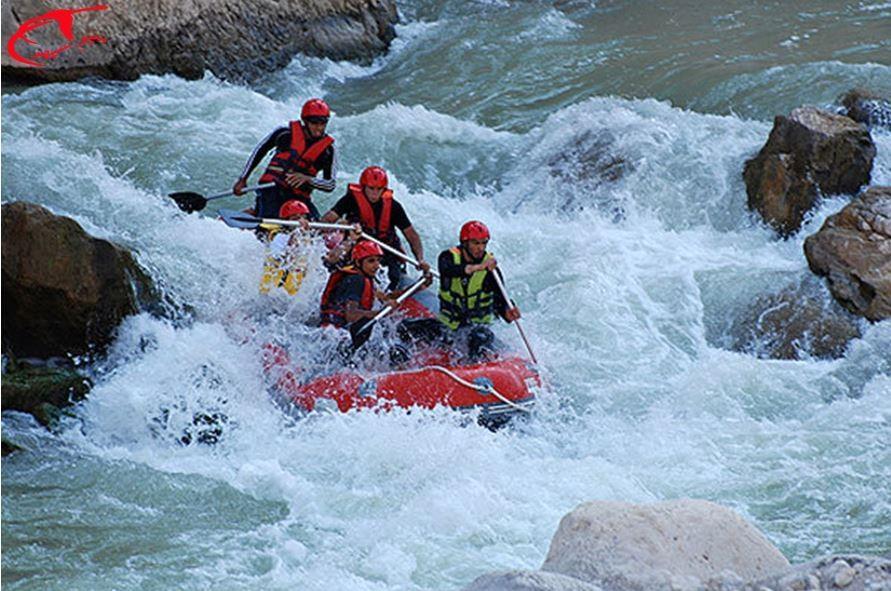 رفتینگ| زاینده رود | گردشگری چهارمحال | rafting | تور رفتینگ | سیر سپهر سبا